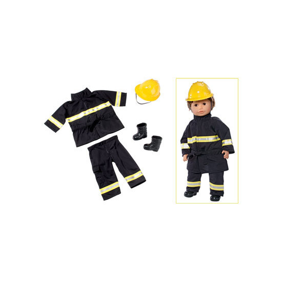 Sam Best Friend Fireman Outfit
