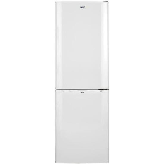 Lec 50cm Frost Free Fridge Freezer Combi - Black