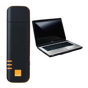 Photo of Option E610 (Orange) With Toshiba L300 Dongle