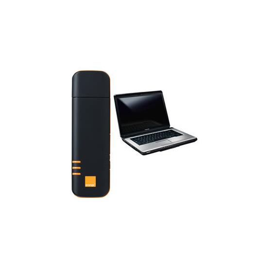 Option E610 (Orange) with Toshiba L300