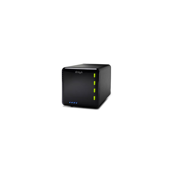 Drobo 4 Bay FW800+USB2.0 Storage Array + 2 WD Caviar GP SATA 1TB Drives