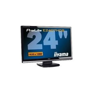 "Photo of Iiyama Pro Lite E2407HDS-1 - LCD Display - TFT - 24"" Monitor"