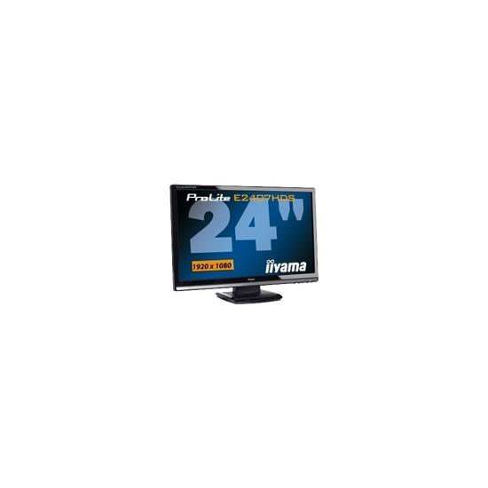 "Iiyama Pro Lite E2407HDS-1 - LCD display - TFT - 24"""