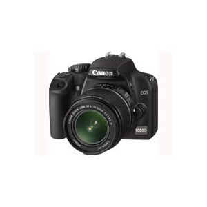 Photo of Canon EOS 1000D With Canon EF-S 18-55MM and EF 75-300MM Lenses Digital Camera