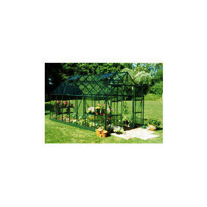 Photo of Green Frame Magnum 14X8 Horticultural Glass Greenhouse