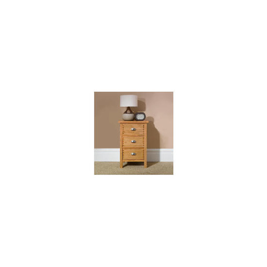 Oakland 3 drawer Bedside Chest