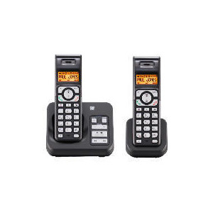 Photo of Tesco ARC411 Cordless Digital Telephone Twin Pack With Answering Machine Landline Phone