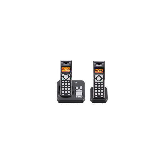 Tesco ARC411 Cordless Digital Telephone Twin Pack with answering machine
