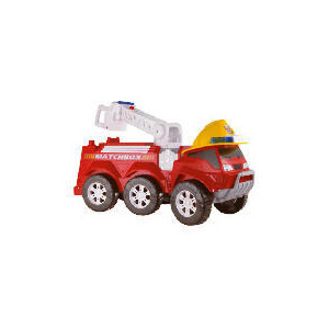 Photo of Matchbox Steer & Store Fire Truck Toy