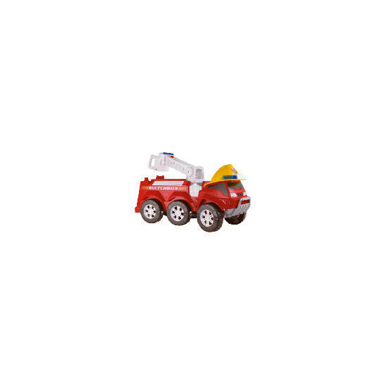 Matchbox Steer & Store Fire Truck
