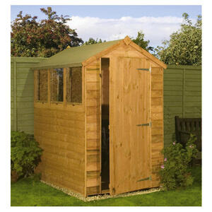 Photo of Waltons Overlap Entry Level 6X4 Shed