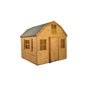 Photo of Dutch Barn Playhouse Double Storey Shed