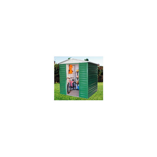 Yardmaster Titan Metal Apex Shed 6x8