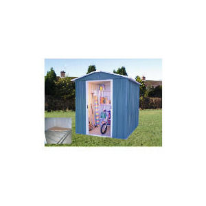 Photo of Yardmaster Titan Metal Apex Shed 6X8 With Floor Frame Shed