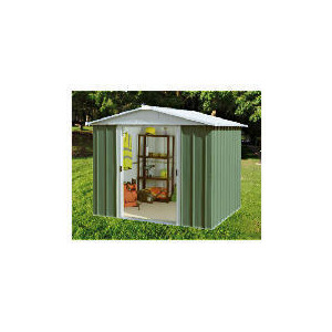 Photo of Yardmaster Metal Apex Shed 8X9 Shed