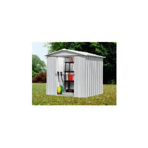 Photo of Yardmaster 6X8 De-Luxe Metal Shed Shed