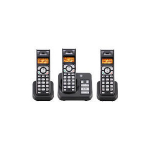 Photo of Tesco ARC412 Cordless Digital Telephone Triple Pack With Answering Machine Landline Phone