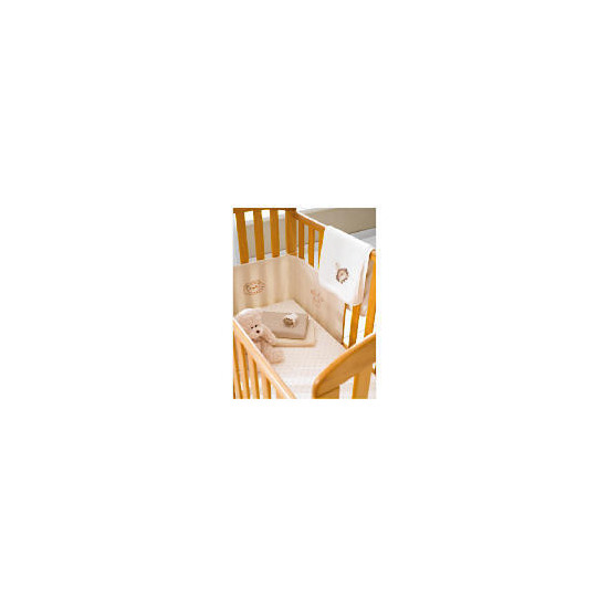 Tesco My Baby's 2 Pack Natural Printed Fitted Jersey Sheets