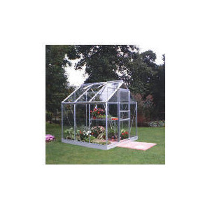 Photo of 6X6 Aluminium Greenhouse Toughened Glass Shed