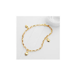 Photo of 9CT Gold Charm Bracelet Jewellery Woman