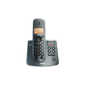 Photo of Philips CD2451B Single Black Telephone Landline Phone