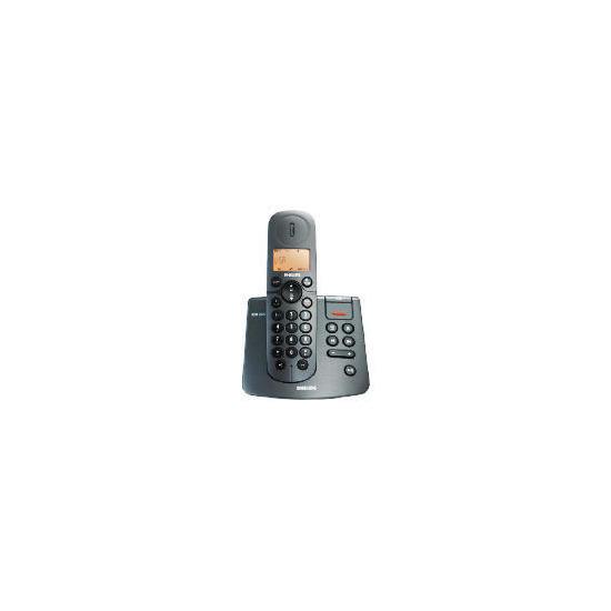 Philips CD2451B Single Black Telephone