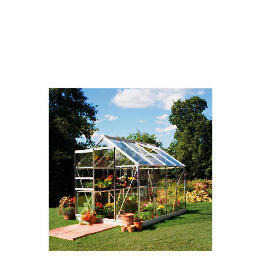 8x6 Aluminium Greenhouse Toughened Glass Reviews