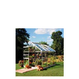 8x6 Aluminium Greenhouse Toughened Glass Reviews