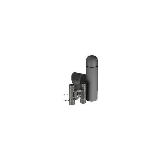 Tesco Binocular & Flask 0.5L Set
