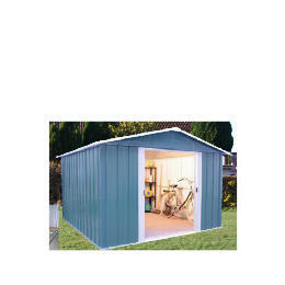 Yardmaster Titan Metal Apex Shed 10x8 with Floor Frame Reviews