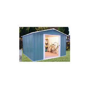 Photo of Yardmaster Titan Metal Apex Shed 10X8 With Floor Frame Shed