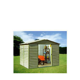 Yardmaster 10x12  Metal shiplad shed Reviews