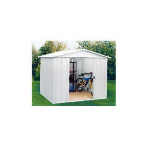 Photo of Yardmaster 8X10 De-Luxe Metal Shed Shed