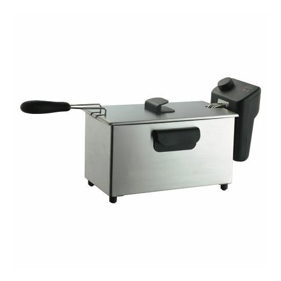 Tesco DFPS08 Stainless Steel Pro Fryer