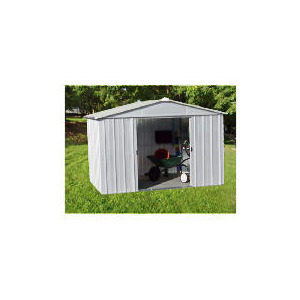 Photo of Yardmaster 10X13 De-Luxe Metal Shed Shed