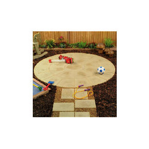 Photo of Oxford Circle Patio Kit Mellow Buff Garden Equipment
