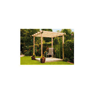 Photo of Garden Inspirations Single Deck and Pergola Kit Garden Furniture