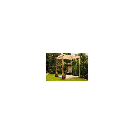 Garden Inspirations Single Deck and Pergola Kit