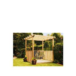 Garden Inspirations Single Deck - Single Pergola and Ballustrade Kit Reviews