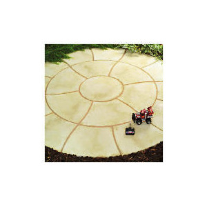 Photo of Living Stone Travertine Circle Kit Garden Furniture