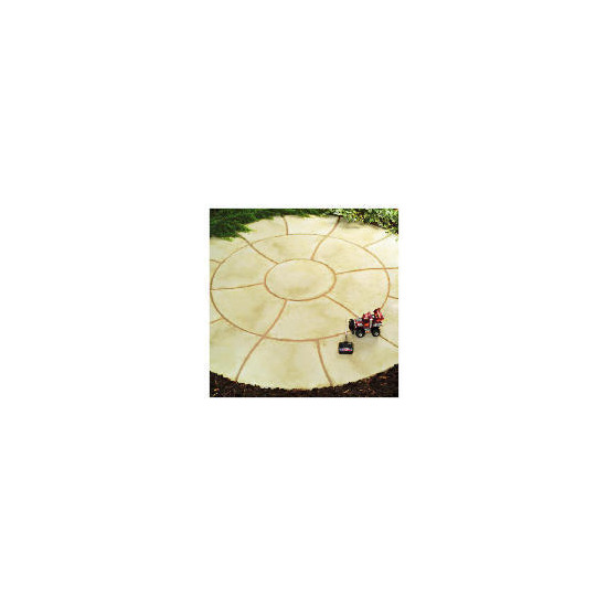 Living Stone Travertine Circle Kit