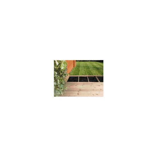 Garden Inspirations Home Delivery Deck Pack (3.6m x 3.6m)
