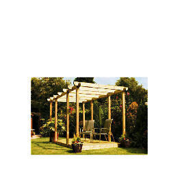 Garden Inspirations Double Deck and Double Pergola Kit Reviews