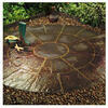 Photo of Oxford Circle Patio Kit Cornish Slate Garden Ornament