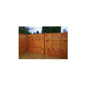 Photo of Waney Edge Horizontal Fencing X3 Garden Furniture