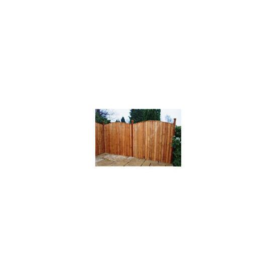 vertcial Close Board Fencing x3