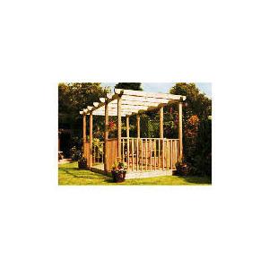 Photo of Garden Inspirations Double Deck, Double Pergola and Ballustrade Kit Garden Equipment