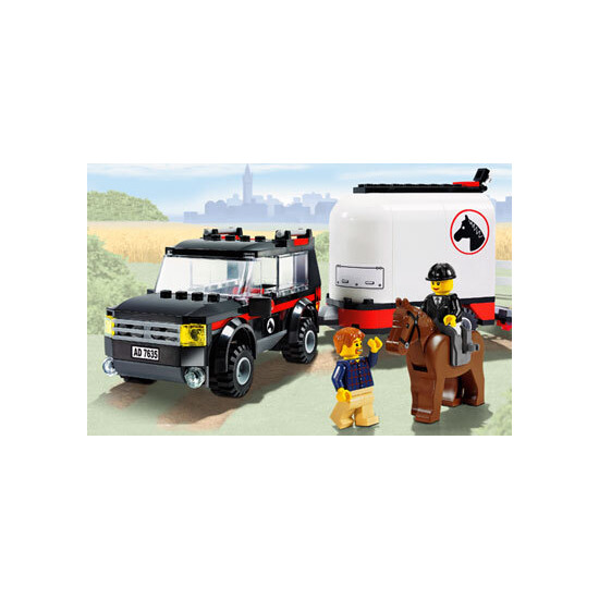 Lego City - 4WD Horse Trailer 7635