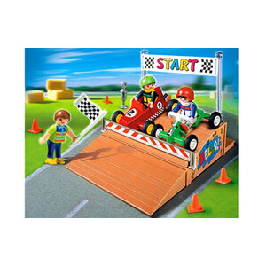 Photo of Playmobil - Go-Cart Race Compact Set 4141 Toy