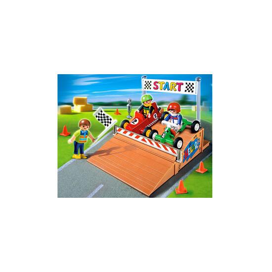 Playmobil - Go-Cart Race Compact Set 4141